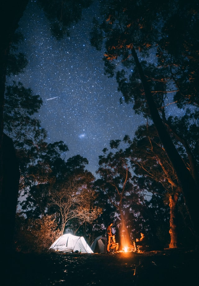 soirée feu de camp