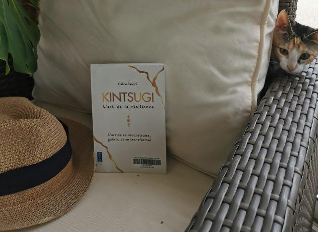 """Livre de Celine Santini """"Kintsugi, lart de la résilience"""""""